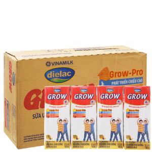 Thùng 48 hộp sữa bột pha sẵn Dielac Grow 180ml (tăng chiều cao)