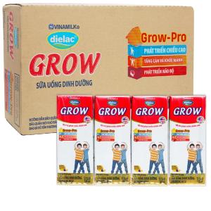 Thùng 48 hộp sữa uống dinh dưỡng Dielac Grow 180ml (tăng chiều cao)