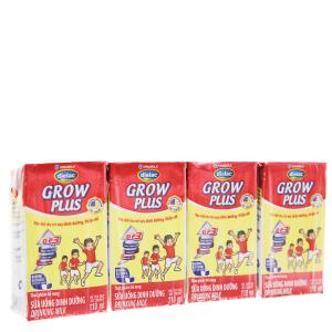 Lốc 4 hộp sữa uống dinh dưỡng Dielac Grow Plus 110ml (cho trẻ thấp còi)