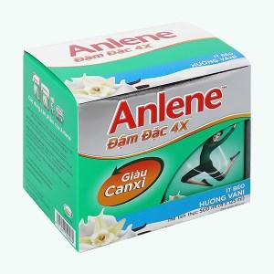 Lốc 4 hộp sữa bột pha sẵn Anlene Đậm đặc 4X vani 125ml