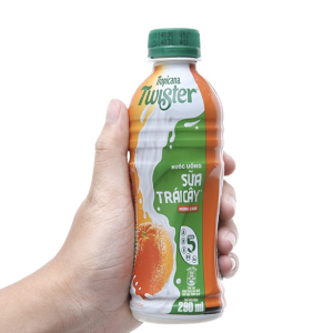 Sữa trái cây Twister hương cam chai 290ml