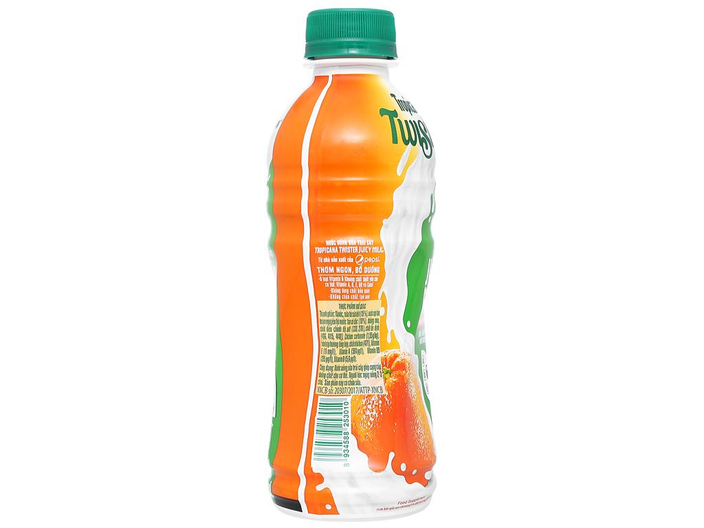 Sữa trái cây Twister hương cam 290ml 3