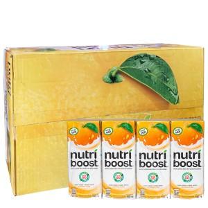 Thùng 48 hộp sữa trái cây Nutriboost hương cam 180ml