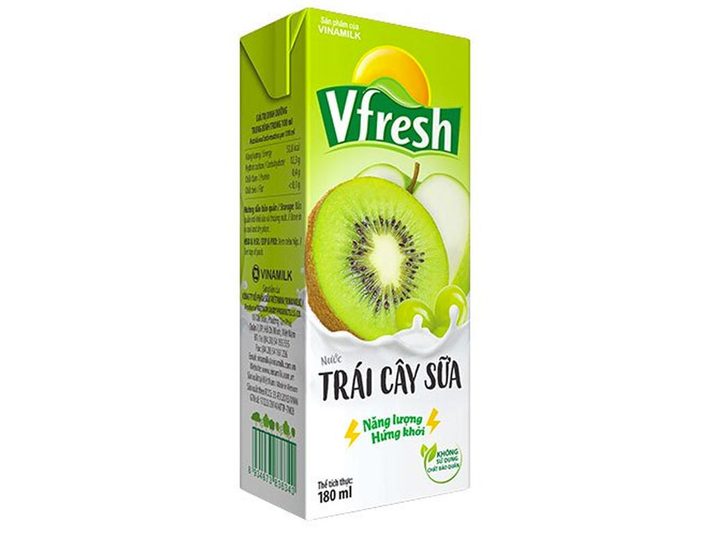 Nước trái cây sữa Vfresh 180ml 1