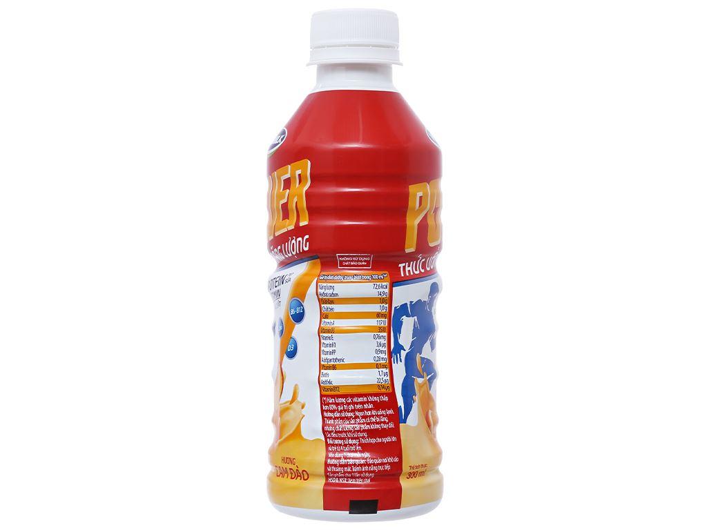 Thùng 24 chai thức uống năng lượng Vinamilk Power hương cam đào 300ml 3