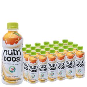 24 chai sữa trái cây Nutriboost hương cam 297ml