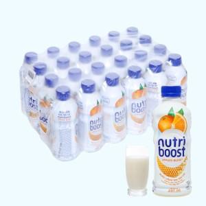 Thùng 24 chai sữa trái cây Nutriboost hương cam 297ml
