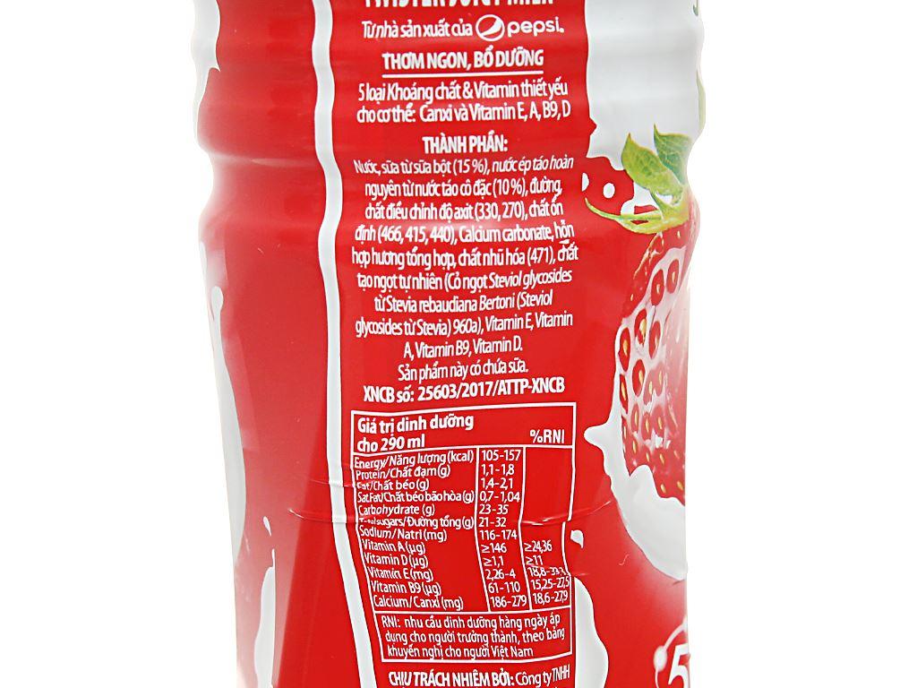 6 chai sữa trái cây Twister hương dâu 290ml 4