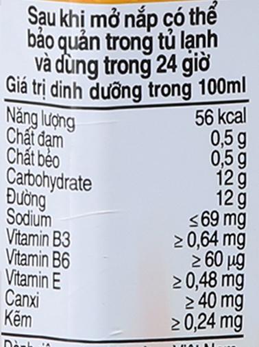 Lốc 6 chai sữa trái cây Nutriboost hương dâu 1 lít 5