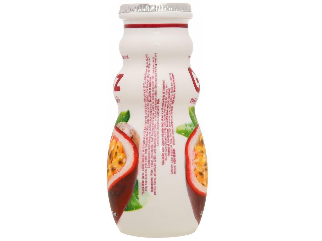 4 chai thức uống dinh dưỡng từ sữa Gotz hương chanh leo 110ml 6