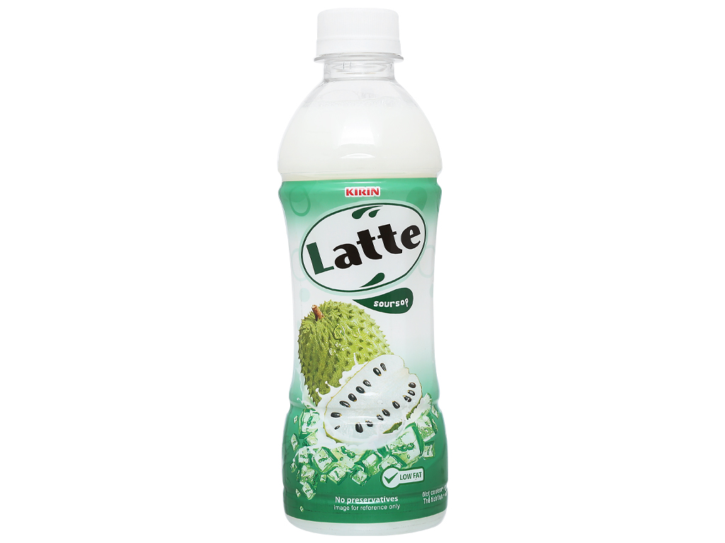 Thức uống thiên nhiên pha sữa Latte mãng cầu 345ml 7