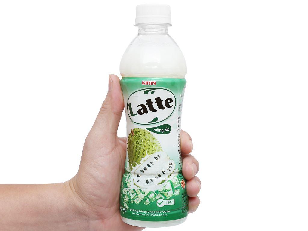 Thức uống thiên nhiên pha sữa Latte mãng cầu 345ml 10