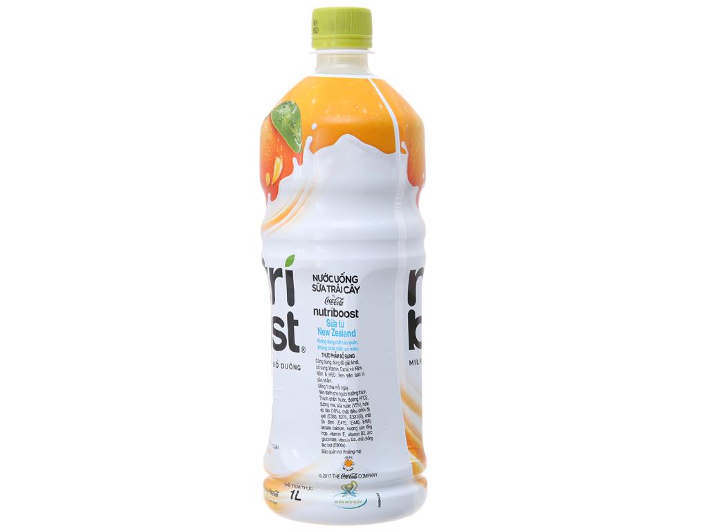Sữa trái cây Nutriboost hương cam 1 lít 3