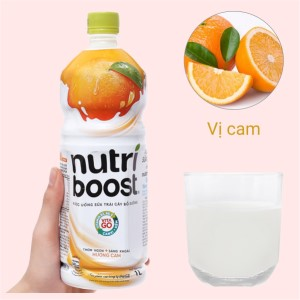 Sữa trái cây Nutriboost hương cam 1 lít