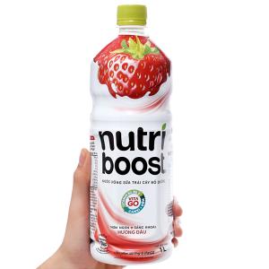 Sữa trái cây Nutriboost hương dâu 1 lít