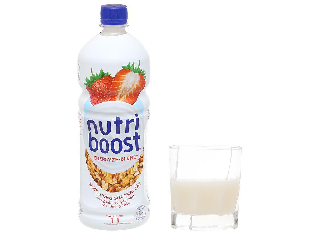 Sữa trái cây Nutriboost hương dâu 1 lít 6