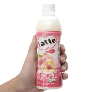 Thức uống thiên nhiên pha sữa Latte hương đào 345ml