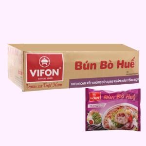 Thùng 30 gói bún bò Huế Vifon 65g