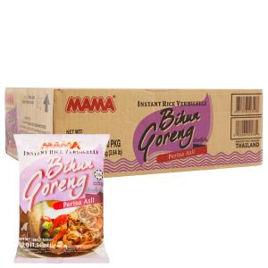 Thùng 30 gói Bún gạo khô ăn liền Bihun Goreng Mama 55g
