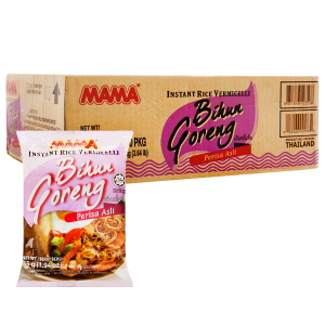 Thùng 30 gói bún gạo khô Mama Bihun Goreng 55g