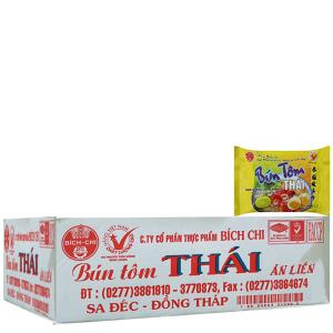 Thùng 30 gói Bún tôm Thái Bích Chi gói 60g