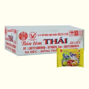 Thùng 30 gói bún tôm Thái Vina Bích Chi 60g