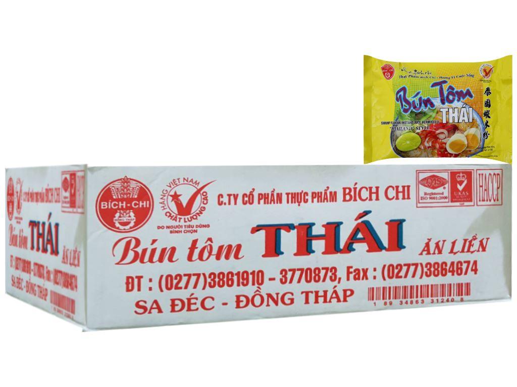 Thùng 30 gói bún tôm Thái Vina Bích Chi 60g 1