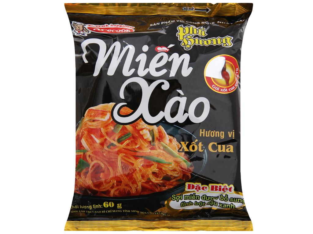 Miến xào xốt cua Phú Hương gói 60g 2