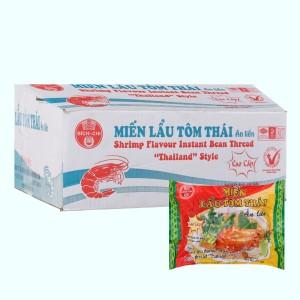 Thùng 30 gói miến lẩu tôm Thái Bích Chi 60g
