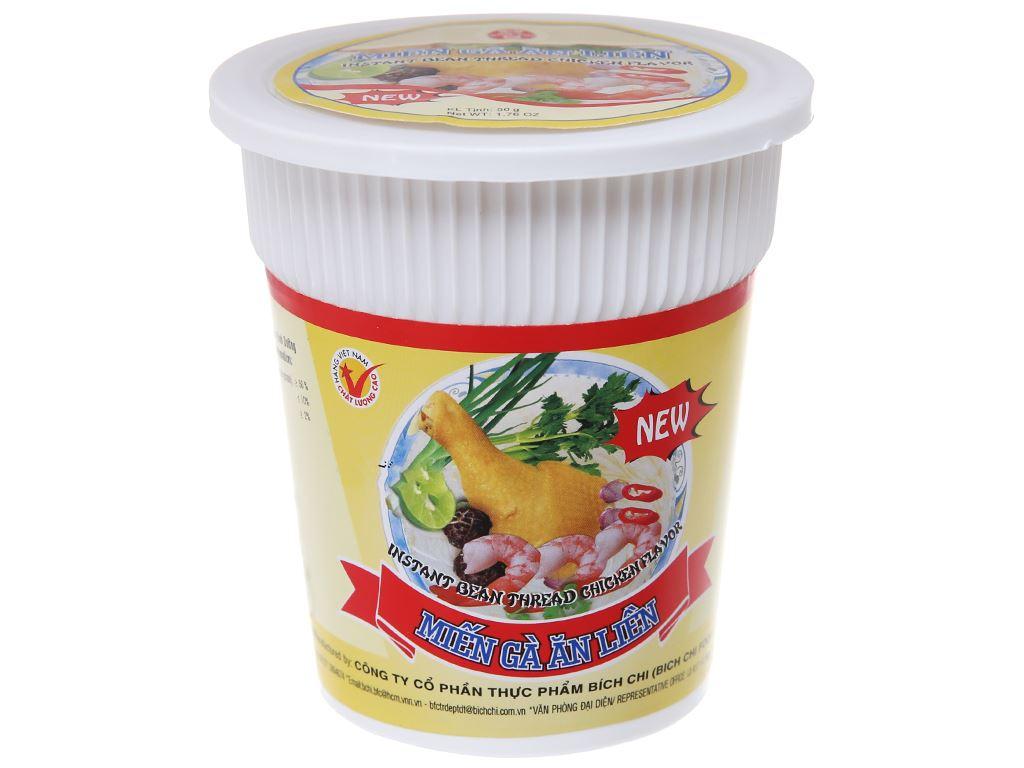 Thùng 24 ly miến gà Bích Chi 50g 3