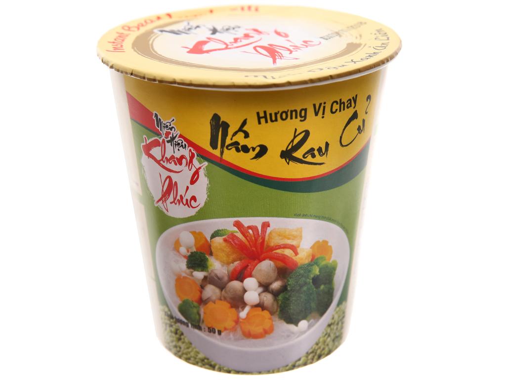 Thùng 24 ly miến chay nấm rau củ Khang Phúc ly 50g 2