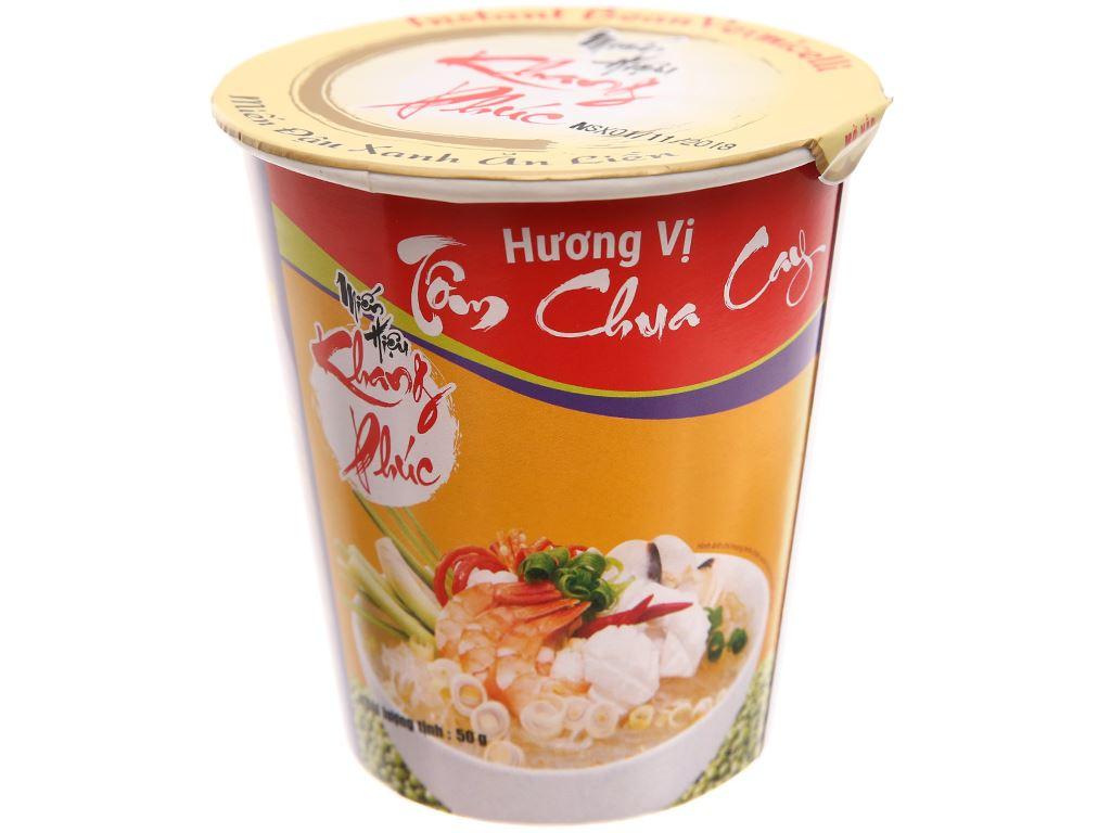 Thùng 24 ly miến tôm chua cay Khang Phúc 50g 2