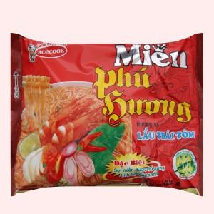 Miến Phú Hương lẩu Thái tôm gói 63g