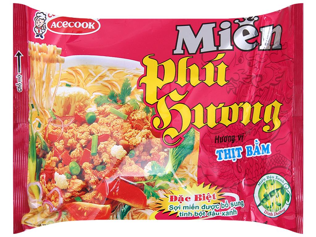 Miến Phú Hương thịt bằm gói 58g 1