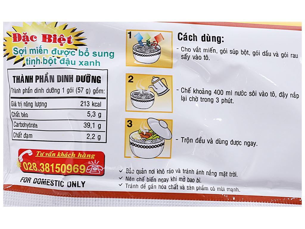 Miến Phú Hương thịt heo nấu măng gói 57g 4