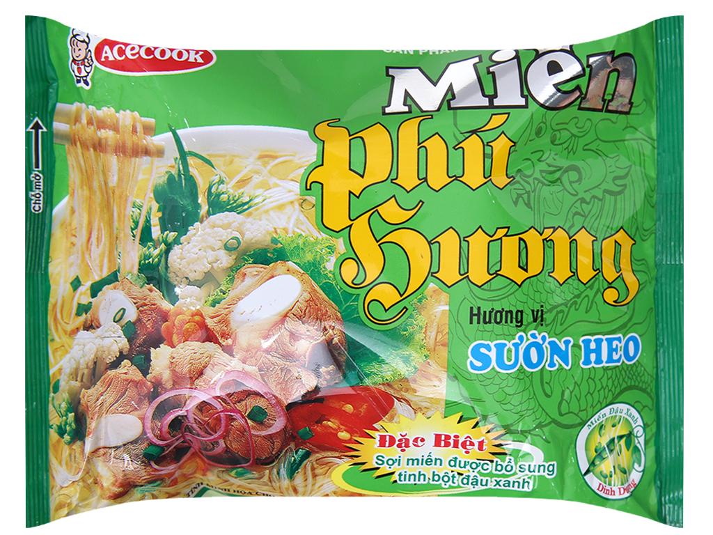 Thùng 24 gói miến sườn heo Phú Hương 58g 3