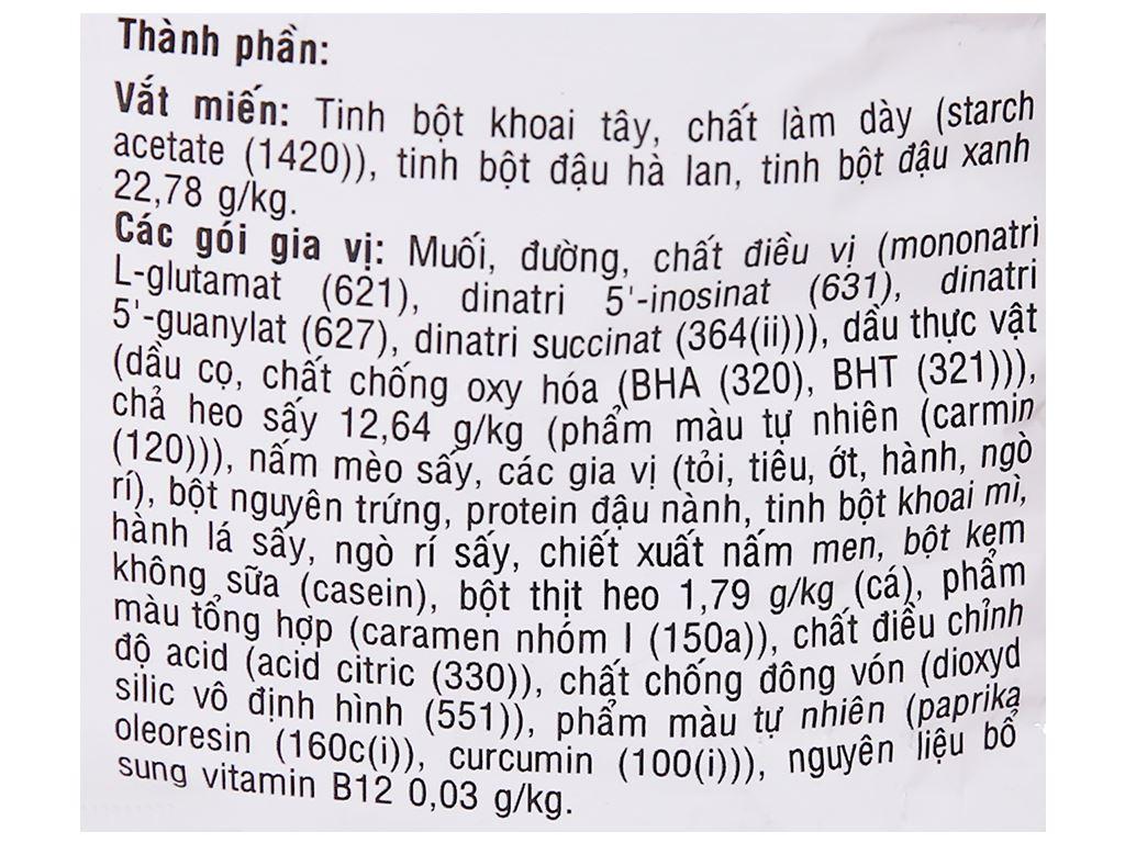 Thùng 24 gói miến Phú Hương sườn heo 58g 4