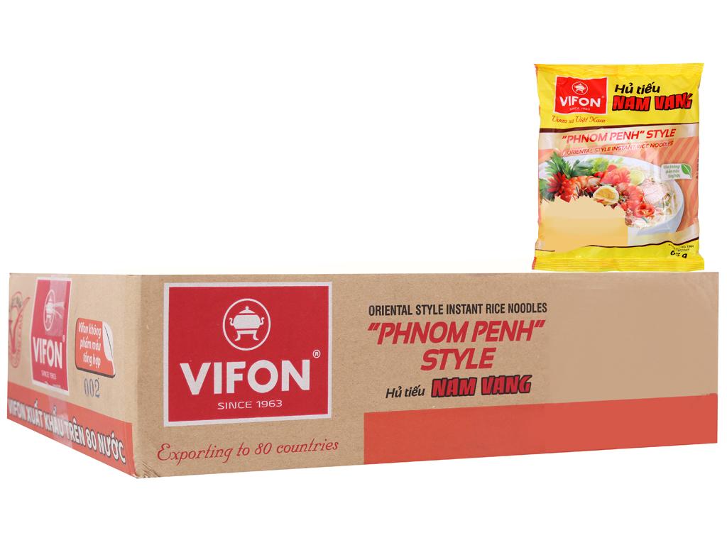 Thùng 30 gói Hủ tiếu Nam Vang ăn liền Vifon 65g 2