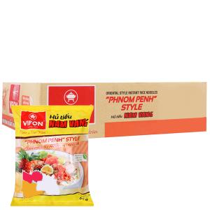 Thùng 30 gói Hủ tiếu Nam Vang ăn liền Vifon 65g