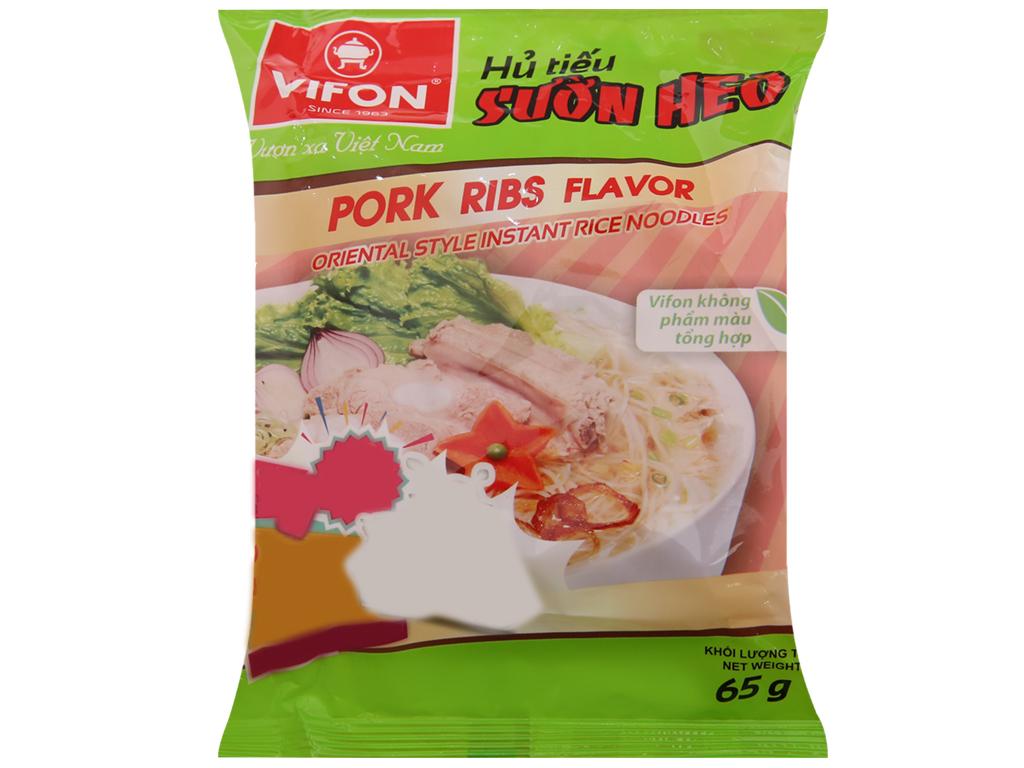 Hủ tiếu sườn heo ăn liền Vifon gói 65g 2