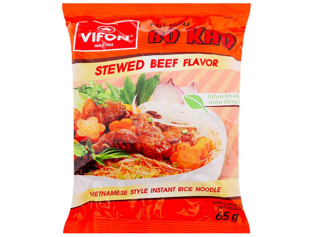 Thùng 30 gói hủ tiếu bò kho Vifon 65g 3