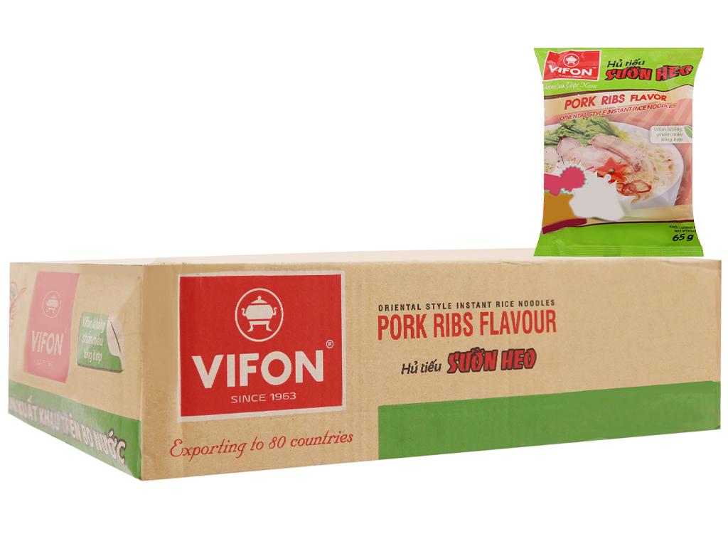 Thùng 30 gói Hủ tiếu sườn heo ăn liền Vifon 65g 2