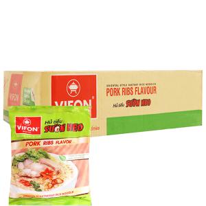 Thùng 30 gói Hủ tiếu sườn heo ăn liền Vifon 65g