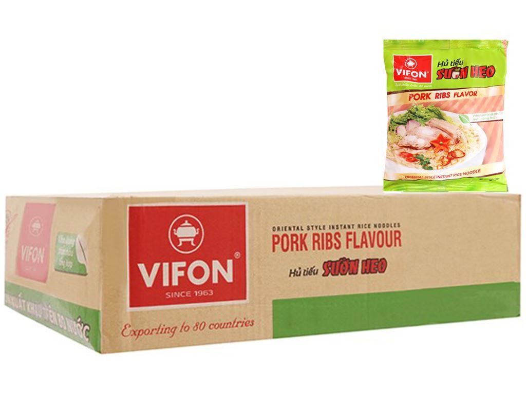 Thùng 30 gói hủ tiếu sườn heo Vifon 65g 7
