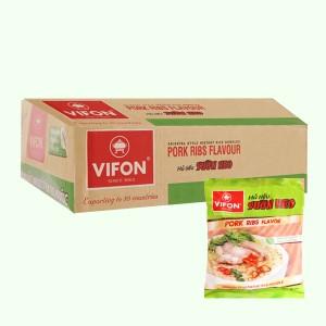 Thùng 30 gói hủ tiếu sườn heo Vifon 65g