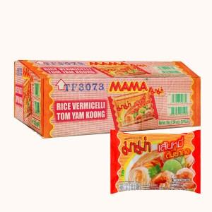 Thùng 30 gói hủ tiếu Mama hải sản Tomyum 55g