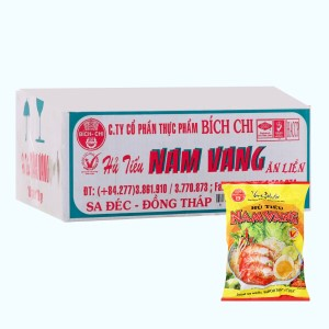 Thùng 30 gói hủ tiếu Nam Vang Vina Bích Chi 60g