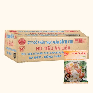 Thùng 30 gói hủ tiếu Bích Chi 60g