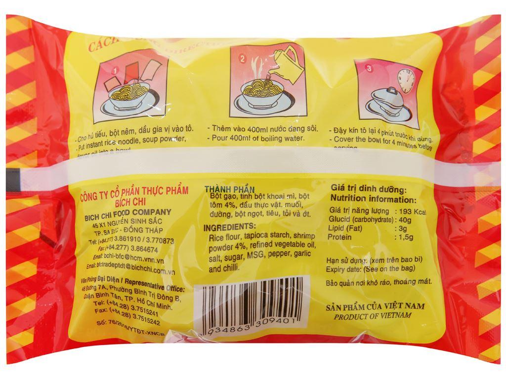 Thùng 30 gói Hủ tiếu Sa Đéc ăn liền Bích Chi gói 60g 5
