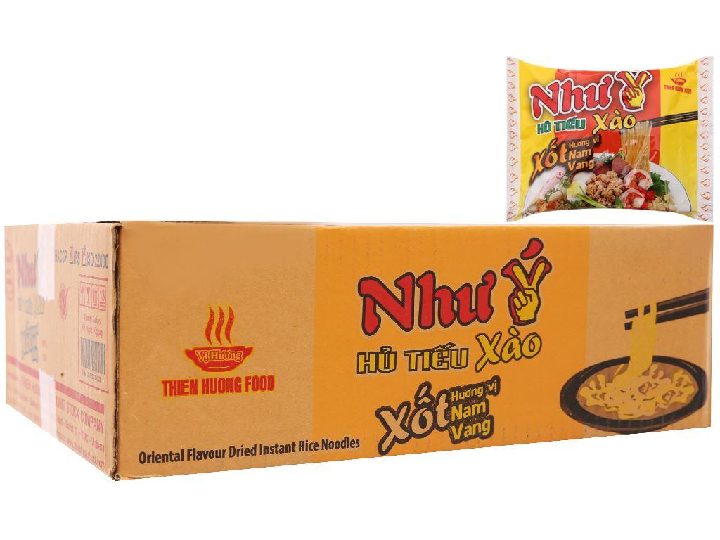Thùng 30 gói Hủ tiếu xào xốt hương vị Nam Vang ăn liền Như Ý 70g 2